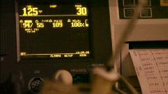 Prenatal monitor 1 720P Stock Footage