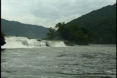 Waterfall h Stock Footage