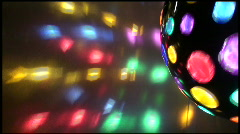 Disco Ball Spinning Stock Footage