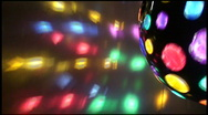 Stock Video Footage of discoball6 HD