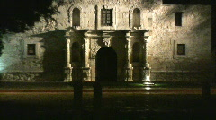 The Alamo San Antonio USA Stock Footage