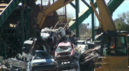 Stock Video Footage of Car Graveyard