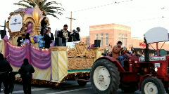 Rita Benson Leblanc in Endymion parade Stock Footage