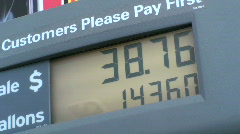 Gas Prices Rising - stock footage