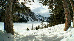 Alps in Winter Snow - stock footage