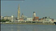 Antwerpen, LO Stock Footage