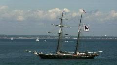 Martha's Vineyard Ship Stock Footage