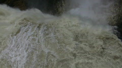 Montmorency Falls, Quebec Stock Footage