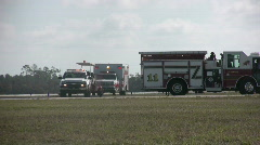 Emergency vehicles Stock Footage