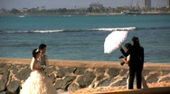 Stock Video Footage of Wedding in Hawaii