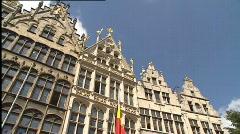"Antwerp, ""Grote Markt"" - stock footage"