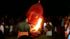 Theyyam Stock Footage