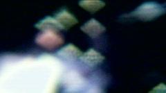 Light abstraction fireworks 09_2 - Vintage 8mm film Stock Footage
