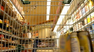 Stock Video Footage of SuperMarket Timelapse