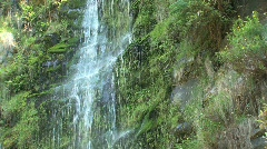 Erskine Falls zoom out Stock Footage