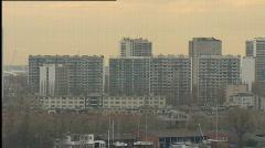 Skyline of Antwerp - stock footage