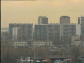Skyline of Antwerp Stock Footage