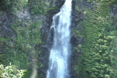 Big Waterfall Haleakala National Park   - stock footage