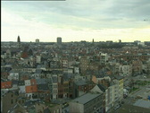 Antwerp skyline Stock Footage