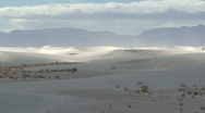 Stock Video Footage of White Sands 2