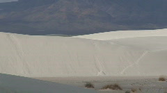 Stock Video Footage of White Sands 3