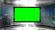 Virtual Studio Set Background Stock Footage