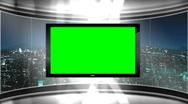 Virtual Studio Set Background Stock Footage