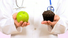 An Apple A Day Stock Footage