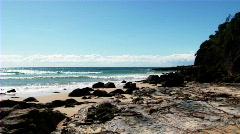 Ocean Rocks - stock footage