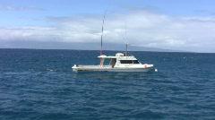 Old School Fishing boat Stock Footage