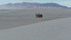 Stock Video Footage of White Sands Restrooms 1