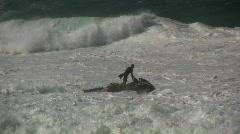 Rescue Jet Ski on patrol, Hawaii USA Stock Footage