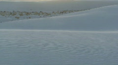 Stock Video Footage of White Sands sunset 2