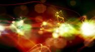 Stock Video Footage of Fractal form background loop