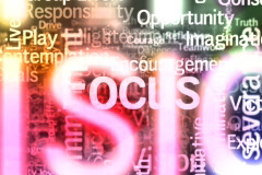 Motivational words background loop - stock footage