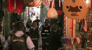 Stock Video Footage of Streets Of The Muslem Quarter In Jerusalem 11