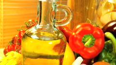 Fresh Healthy Ingredients Stock Footage