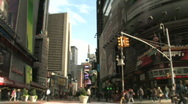 Stock Video Footage of Times Square New York City Manhattan