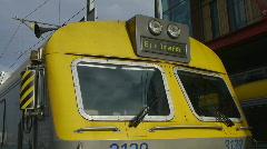 HD1080p Train at Gothenburg Rail Station Stock Footage