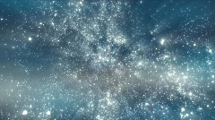 Space background with spinning camera - loop 29.97 fps Stock Footage