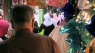 Stock Video Footage of Streets Of The Muslem Quarter In Jerusalem 2
