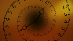 Spiral Clock (HD) - stock footage