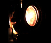 Close up of Film Projector (w/ sound) Stock Footage