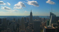 Stock Video Footage of Midtown Manhattan New York City