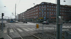 HD1080p Gothenburg City Tramp Stock Footage