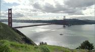 Golden Gate Bridge 1080 - 3 Stock Footage
