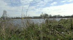 Sweep-oar rowing in an eight  Stock Footage