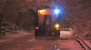 Stock Video Footage of Salt truck.
