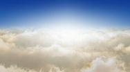 Flying Through The Clouds.. Looop Stock Footage