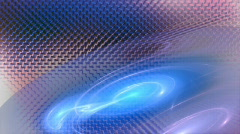 Blue on metallic motion background d4110E Stock Footage